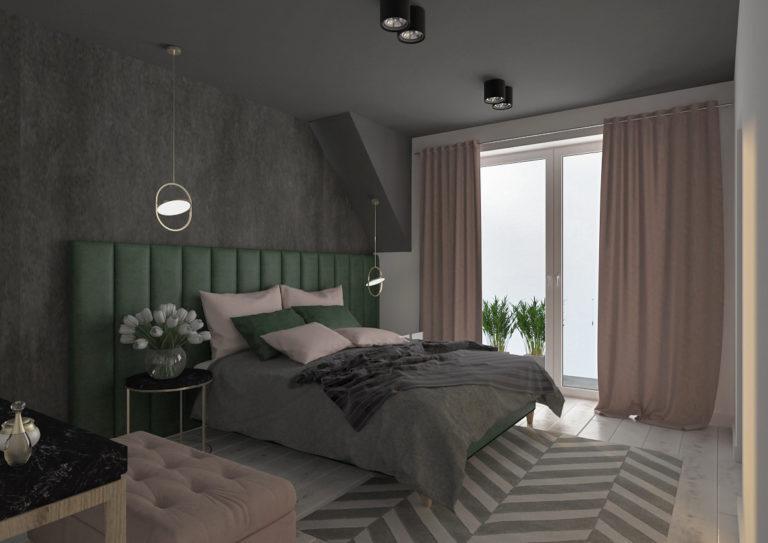 Dom w Zimokwiatach - sypialnia